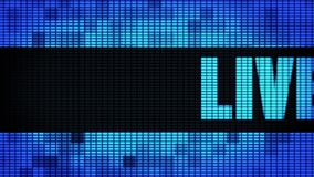 Live Front Text Scrolling LED Wall Pannel Display Sign Board