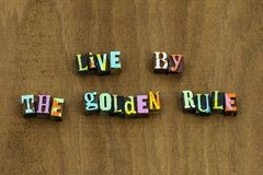 Free Live Golden Rule Do Unto Others Kindness Stock Images - 150672444
