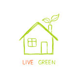 Live green! Stock Image