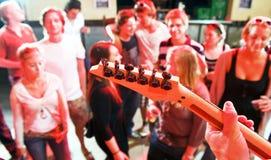 Live Guitar Royalty Free Stock Photos