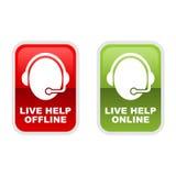 Live Help Stock Photo