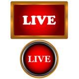 Live icons set Stock Image