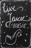 Live Jazz Music Immagine Stock