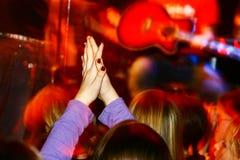 live konsert Fotografering för Bildbyråer