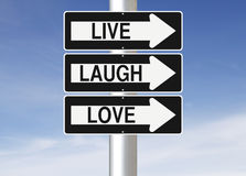 Live Laugh Love Royalty Free Stock Image
