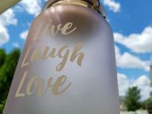Live, Laugh, Love royalty free stock photo