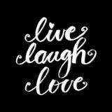 Live Laugh Love Stock Photos
