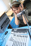 Live listening stock images
