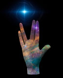 Live Long and Prosper. Stars Royalty Free Stock Image