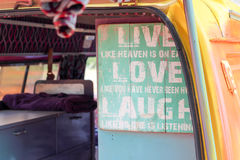 Live Love Laugh Royalty Free Stock Photography