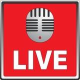 live mic Στοκ Εικόνες