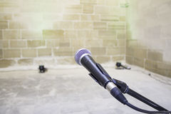 Live Microphone Royalty Free Stock Images