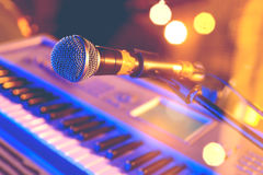 Live music background Stock Photos