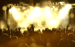 Live music background Stock Photography
