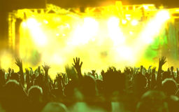 Live music background Royalty Free Stock Images