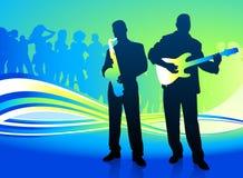 Live Music Band libre illustration