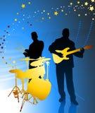Live Music Band Royaltyfri Foto