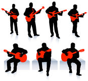 Live Music Band Collection Stock Images