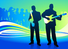 Live Music Band Stock Images