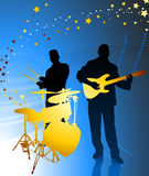 Live Music Band Royalty Free Stock Photo