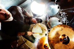 Live music and drummer.Music instrument Royalty Free Stock Images