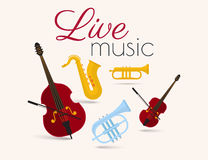 Live music Stock Images