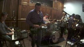 Live Music Instrumental Jam Mojo 1 arkivfilmer