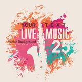 Live musik Fotografering för Bildbyråer