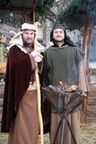 Live Nativity Scene in Zagreb Royalty Free Stock Photos