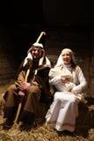 Live Nativity Scene in Zagreb Stock Images
