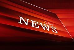 Live News Background Concept Series graphique Images libres de droits