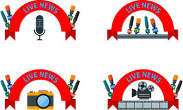 Live news Royalty Free Stock Images
