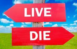 Free Live Or Die Royalty Free Stock Image - 40814426
