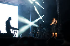 Live performance Stock Images