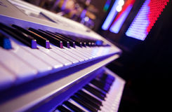 Live piano Royalty Free Stock Photo