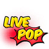 Live pop Royalty Free Stock Image