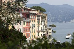 Live in Portofino Stock Images