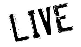 Live rubber stamp Stock Images