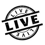 Live rubber stamp Stock Photos