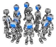 Live Screen Robot, manojo libre illustration