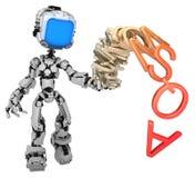 Live Screen Robot, pile d'alphabet