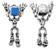 Live Screen Robot, Surrender royalty free illustration
