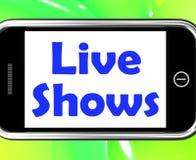 Live Shows Performance Music Songs ou talent Photos libres de droits