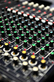 Live sound mixer Royalty Free Stock Images