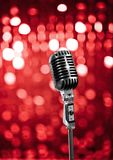Live on stage Royalty Free Stock Photography