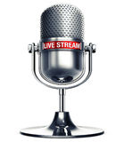 Live stream Royalty Free Stock Photo
