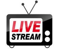 Live stream icon royalty free illustration