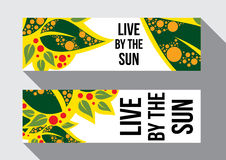 Live by the sun Royalty Free Stock Images