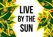Live by the sun Stock Photo