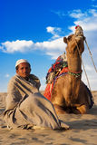Live in the Thar Desert Royalty Free Stock Photos